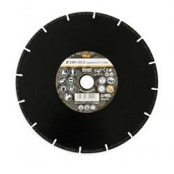 MAGG DKAM230 diamantový řezný kotouč 230x22,2mm
