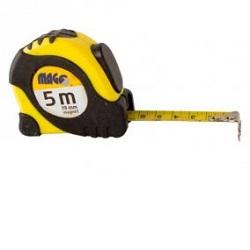 Svinovací metr 5 m x 19mm magnetický plast-guma