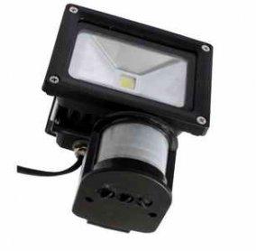 LED reflektor MCOB LED 10W s pohybovým senzorem