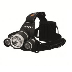 Solight WH23 IP44 900lm 3xCree LED Čelová svítilna