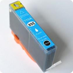 HP CZ110A - kompatibilní HP 655 cartridge cyan
