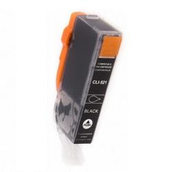 Canon CLI-521BK - kompatibilní s čipem černá 10ml