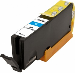 Canon CLI-551C XL kompatibilní kazeta