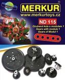MERKUR ND 115 Ozubená kola modul 1