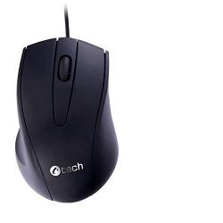 C-TECH WM-07 černá myš optická, konektor USB
