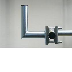 Držák na balkón 15cm délka šroubů 12cm výška 10cm