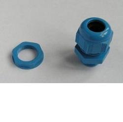 Kabelová průchodka M20, 5-10mm kabel modrá