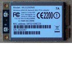WLE200NX miniPCI express adaptér 802.11a/b/g/n