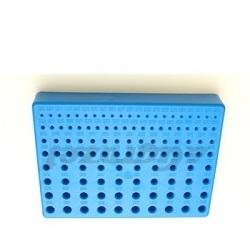 Stojánek na vrtáky 1-10 mm plastový modrý